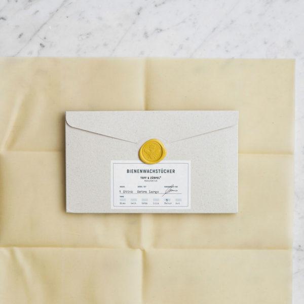 Bienenwachstuch Verpackungsmaterial für den Haushalt