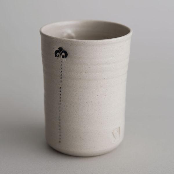 Handgemachte Keramik Schuessel, Becher, Tasse